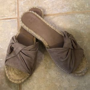 Marc Fisher suede sandal - never worn